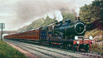 Great Eastern Railway 4-6-0 locomotive  c 1910.