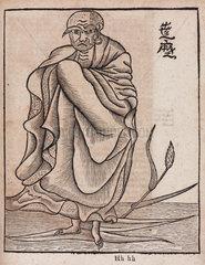 The monk Boddhidarma  c 1712.