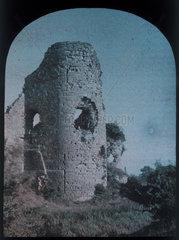 Ruined tower  c 1910-1915.