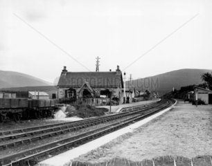 Dalwhinnie Station  on the Highland Railway