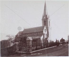 Christchurch  Ebbw Vale  Blaenau Gwent  Wales  1893-1895.