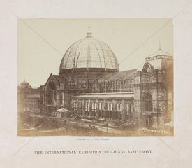 'The International Exhibition Building  East Front'  London  1862.