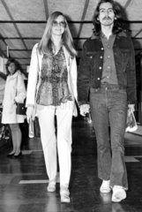 George Harrison and wife Patti  September 1969.