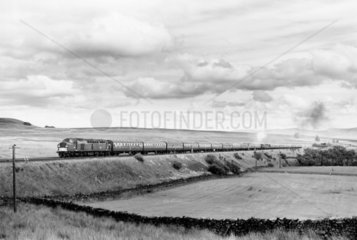 A Class 40 diesel-electric locomotive with