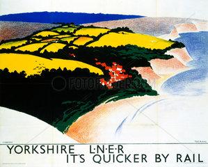 'Yorkshire'  LNER poster  1923-1947.