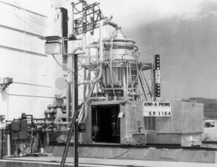 Kiwi-A Prime Atomic Reactor  Los Alamos  New Mexico  USA  1960.