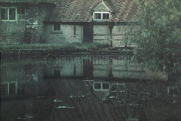 Reflection  c 1910-1915.