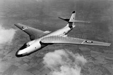 Vickers-Armstrong Valiant V-Bomber W2365 in flight  c 1951.