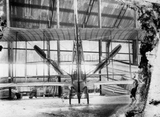 Cody Aeroplane No1  rear view of modifications  1908.