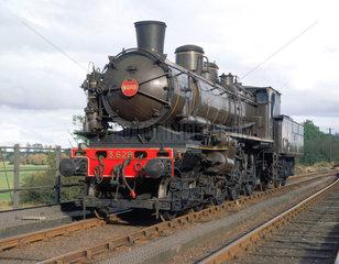 French 4-6-0 compound locomotive no 3628  1911.