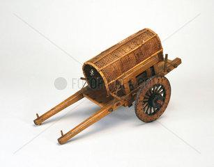 Primitive cart.