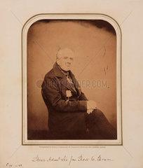 Sir John Ross  Scottish naval officer and explorer  1854-1866.