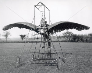 Frost's experimental ornithopter  1904.