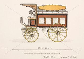 Trade van  c 1903.