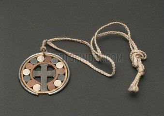 Electrogalvanic amulet  American  1880-1900.