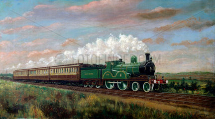 Great Central Railway express  1899.