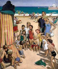 Sunny Rhyl - The Children's Paradise  1950.