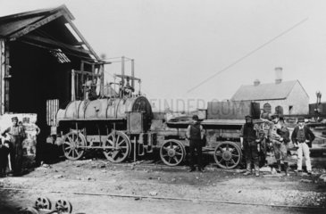 The Springwell Colliery Engine No 2  County Durham  19th century.