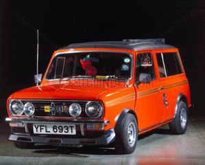 Mini Clubman  adapted for use by a disabled driver  c 1978-1979.
