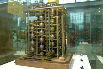 Babbage's Difference Engine No 1  1832.