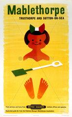 'Mablethorpe'  BR poster  1960.