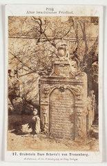 Jewish cemetery  c 1875.