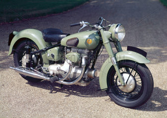 Sunbeam S7 500 cc motorcycle  1951.