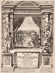 Title page to 'Theatrum Machinarum Novum'  1662.