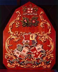 Coat of arms of the Great Northern Railway.