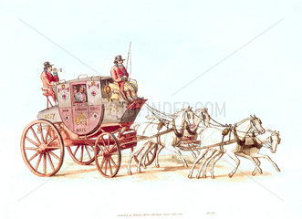'Royal Mail stagecoach'  1805.