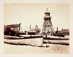 'Lowestoft-Low Lighthouse'  c 1855.