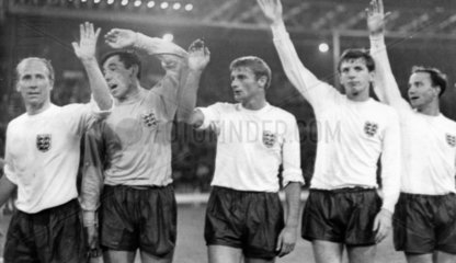 England squad  World Cup  July 1966.