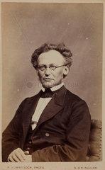 Jon Iapetus Smith Steenstrup  Norwegian zoologist  c 1870s.