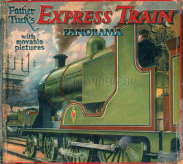 'Father Tuck's Express Train Panorama  with movable pictures'  late 19th century.