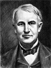 Thomas Edison  American inventor  c 1910.