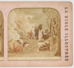 'Jesus au Jardin des Oliviers'  c 1880 .