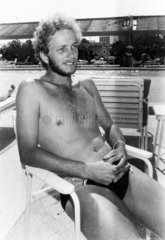 David Gower  20 August 1985.