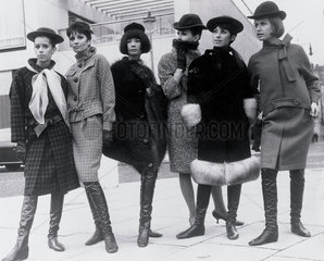 Pierre Cardin fashions at the Sunday Times Fashion Awards  1963.