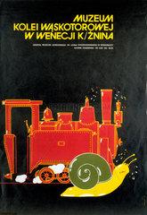 Kolei Waskotorowej Museum poster  1984.
