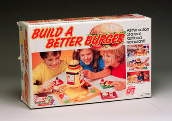 'Build a Better Burger' game  c 1984.
