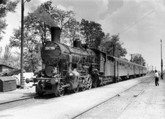 GYSEV steam locomotive  1966.