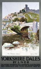 'Yorkshire Dales'  LNER poster  1923-1947.