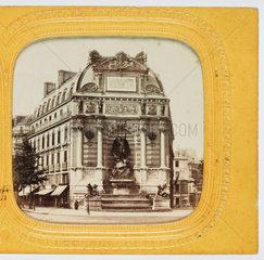 Fontaine St Michel  St Germain  Paris  late 19th century.