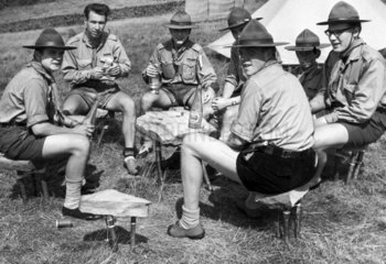 German and British Scouts  August 1960.