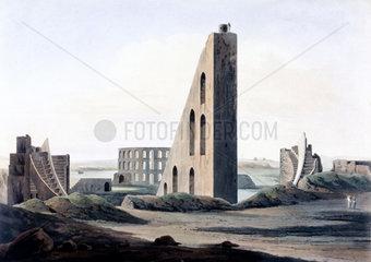 Samrat Yantra sundial Delhi  India  1808.