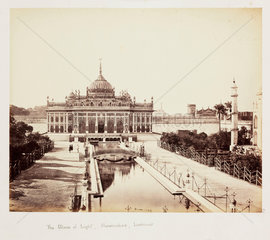 'The Palace of Light  Husainabad  Lucknow'  c 1865.