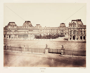 'Louvre'  Paris  c 1865.