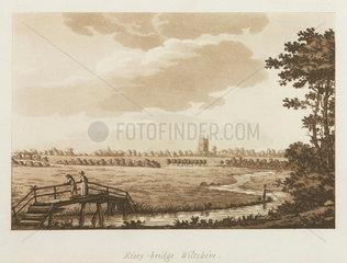 'Eisey-bridge  Wiltshire'  1792.