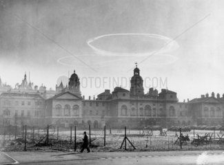 Dog fight over London  8 October 1940. 'Thi