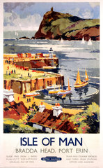 'Isle of Man'  BR (LMR) poster  1948-1965.
